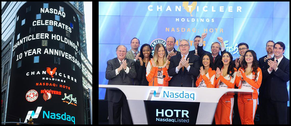 Chanticleer at NASDAQ