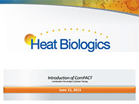 Heat Biologics IR Presentation