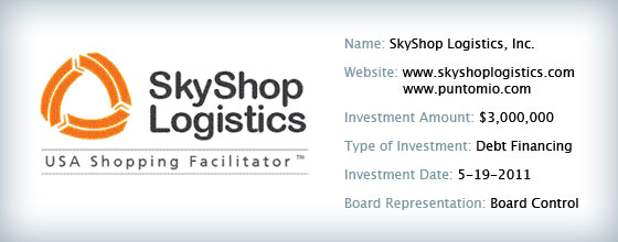 SkyShop Logistics Inc.