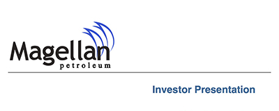 Magellan Petroleum Corporation Investor Information