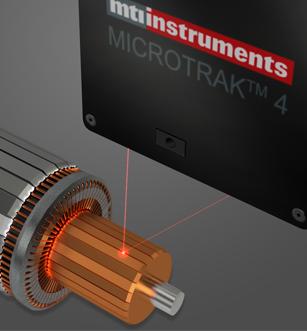 Laser Sensor Measuring Runo-out