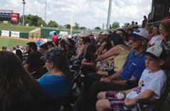 Serco employees at the Northwest Arkansas Naturals Baseball Game