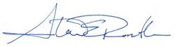 Steve Rendle Signature
